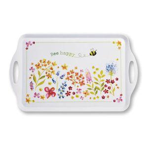 PLAT DE SERVICE Cooksmart Bee Happy Grand plateau