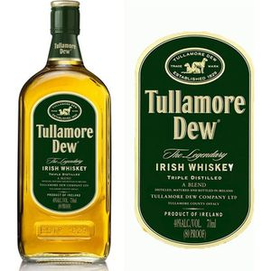 WHISKY BOURBON SCOTCH Tullamore Dew 70cl