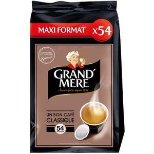CAFÉ Grand-mère Classique café en dosettes x54 -356g