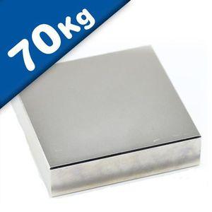 AIMANTS - MAGNETS Aimant rectangulaire Bloc magnétique - 50 x 50 x 1