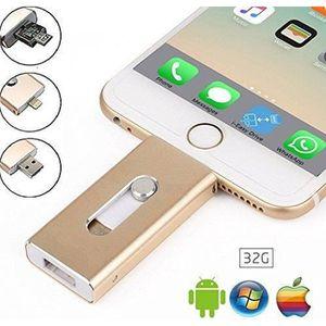 CLÉ USB Clé USB iPhone 32Go, Mémoire Externe Clef USB 3.0