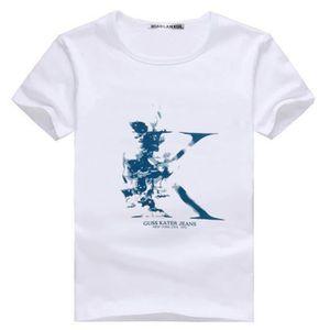 T-SHIRT Lettres imprimés T-shirts Tee Shirt Manche Courte