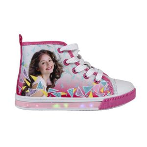 BASKET Baskets LED Chaussures Lumineuse Soy Luna