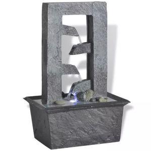 FONTAINE INTÉRIEURE Fontaine d'intérieur Poly-résine avec lumière LED