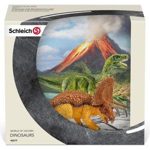 FIGURINE - PERSONNAGE Schleich Figurine 42217 - Dinosaure - Petits tricé