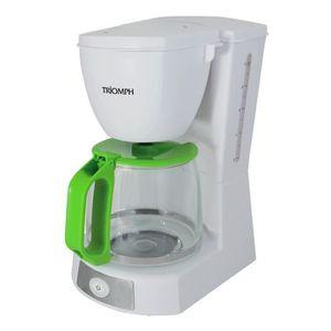 CAFETIÈRE Cafetière avec filtre amovible - 1,2L - 680W - Tri