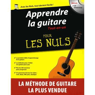 apprendre la guitare tout en un pour les nuls achat vente livre mark phillips jon chappell. Black Bedroom Furniture Sets. Home Design Ideas