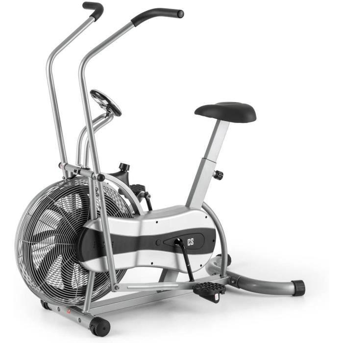 Capital Sports Stormstrike 2k - Vélo d'appartement Cross-Training pour Entrainement et Exercices Cardio (résistance Croissante par é