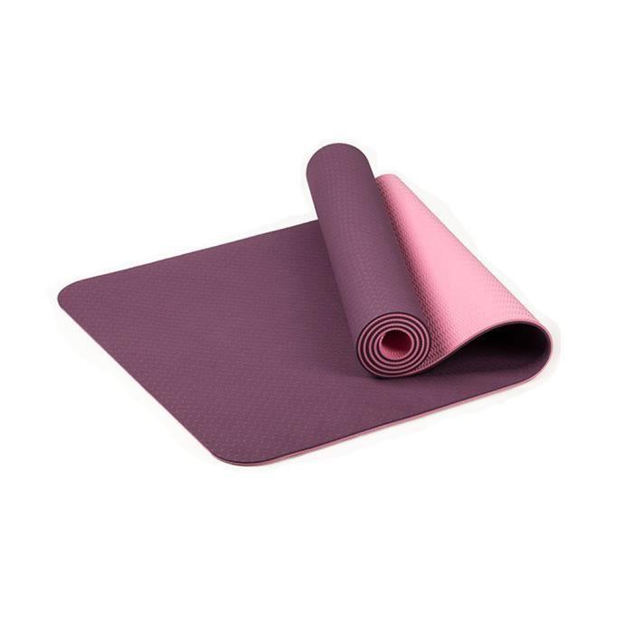 Tapis de yoga classique Yoga Mat Pro TPE Eco Friendly Antiderapant Fitness Tapis d'exercice Sport 1637