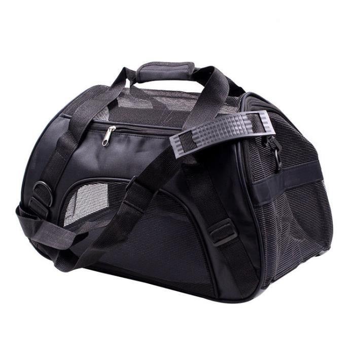Sac à dos Portable pour animaux de compagnie sac Messenger sac pour chat sac de transport pour - Type Black-L