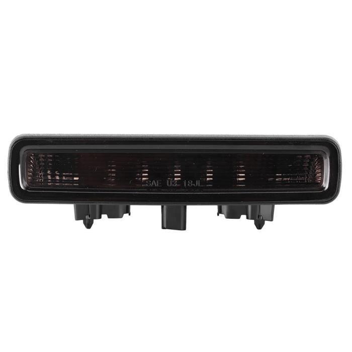 HURRISE Feu arrière Troisième Feu Stop LED Haute Luminosité Étanche ABS PC Convient pour Jeep Wrangler JL 2018‑2020