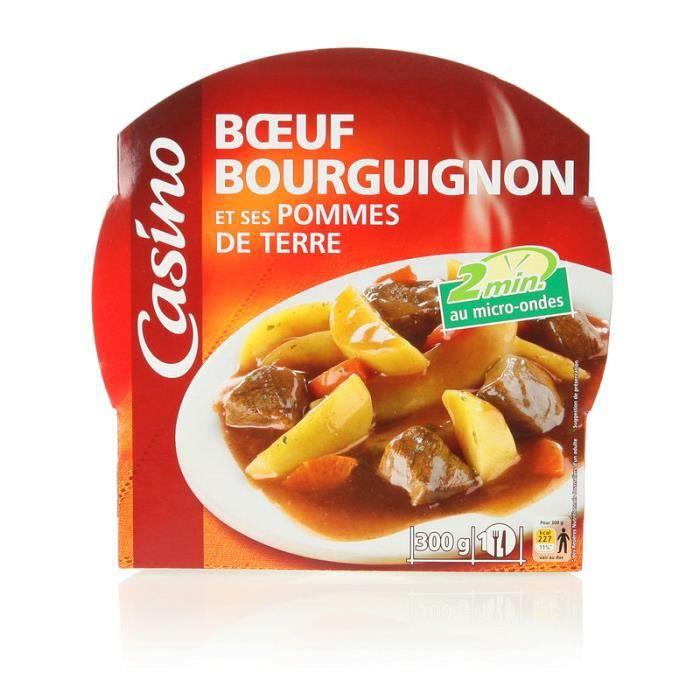 Boeuf bourguignons et ses pommes de terre - 300 gr