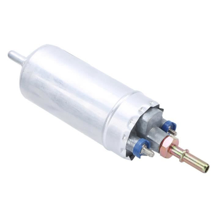 EJ.life Pompe à essence 12V Pompe à essence externe 12V 5 barres 150L/H alliage d'aluminium 0580464075 accessoire de voiture de
