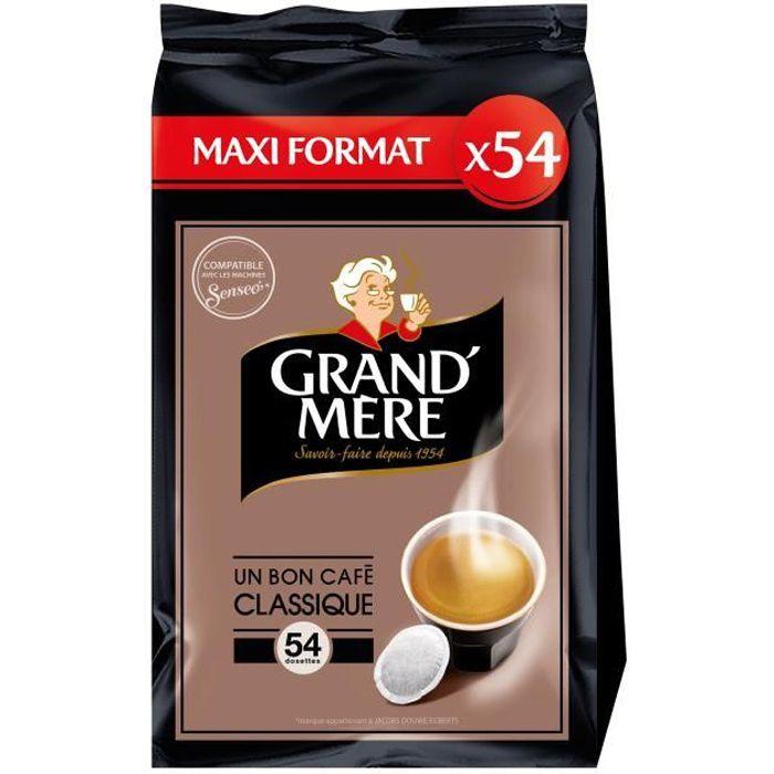 Grand-mère Classique café en dosettes x54 -356g