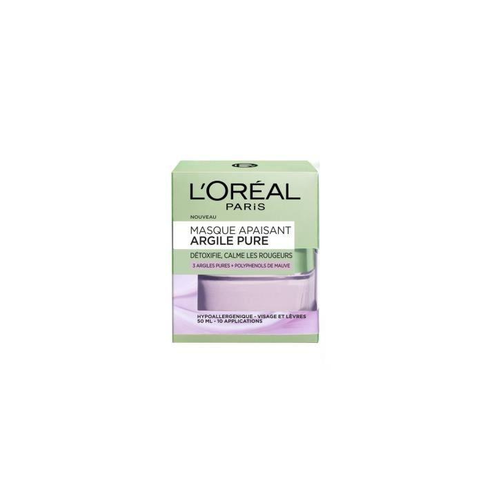 L'Oréal Paris ARGILE PURE Masque Apaisant 50.0 mlac