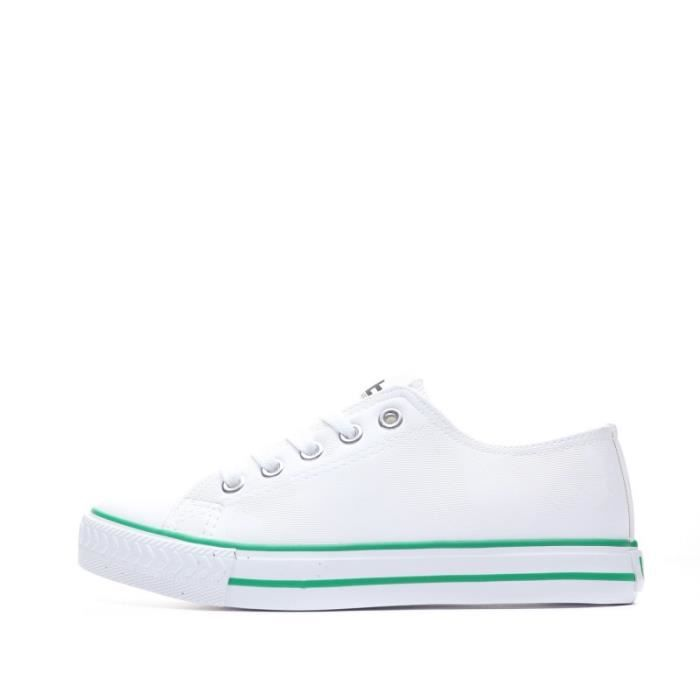 Baskets blanc fille Les Petites Bombes Angy