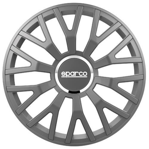 SPARCO Lot de 4 Enjoliveurs Leggera Pro 15'' - Gris