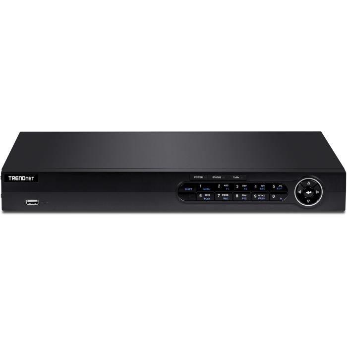 TRENDNET Station de surveillance vidéo TV-NVR408 8 Canaux Filaire - Enregistreur Réseau Vidéo - HDMI