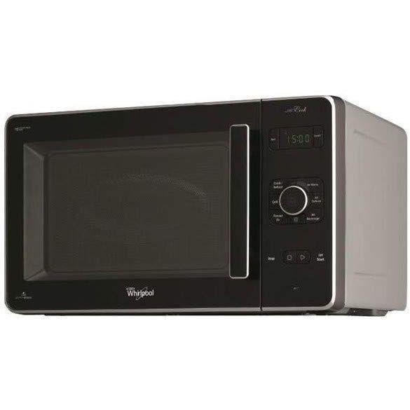 WHIRLPOOL JC217 Micro-ondes combiné noir et argent-30 L-1000 W-Grill 1000 W-Pose libre