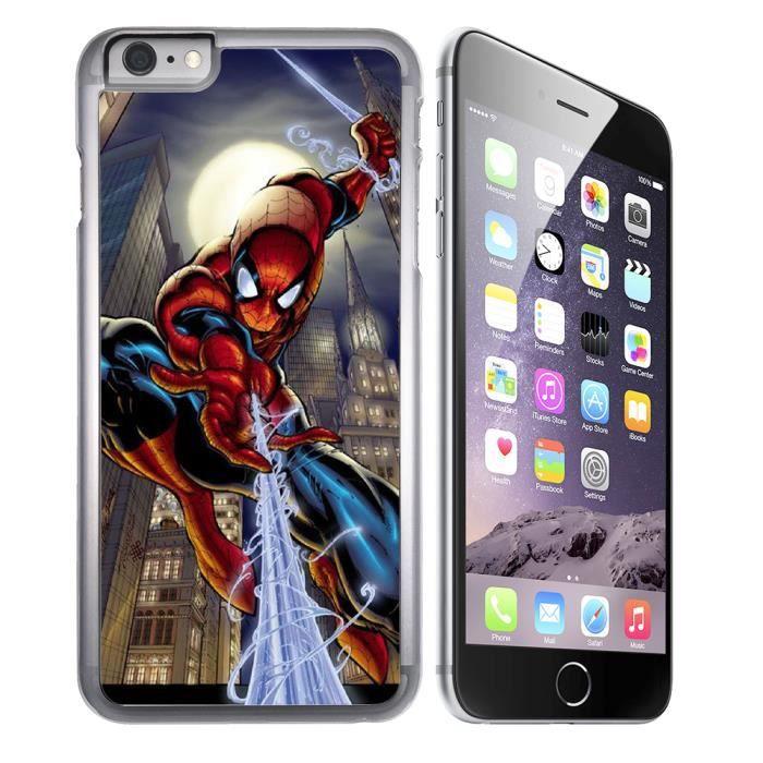 coque iphone 8 spiderman comics