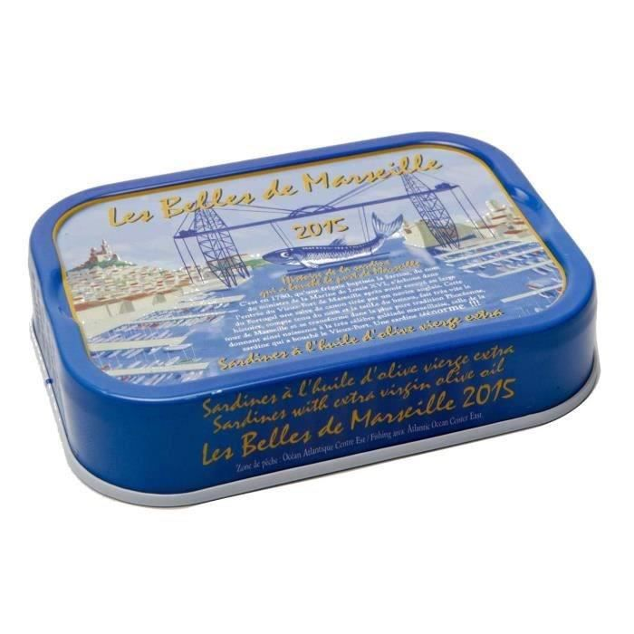 PRODUIT DE SARDINE BELLES DE MARSEILLE Sardine à l'Huile d'Olive Mill