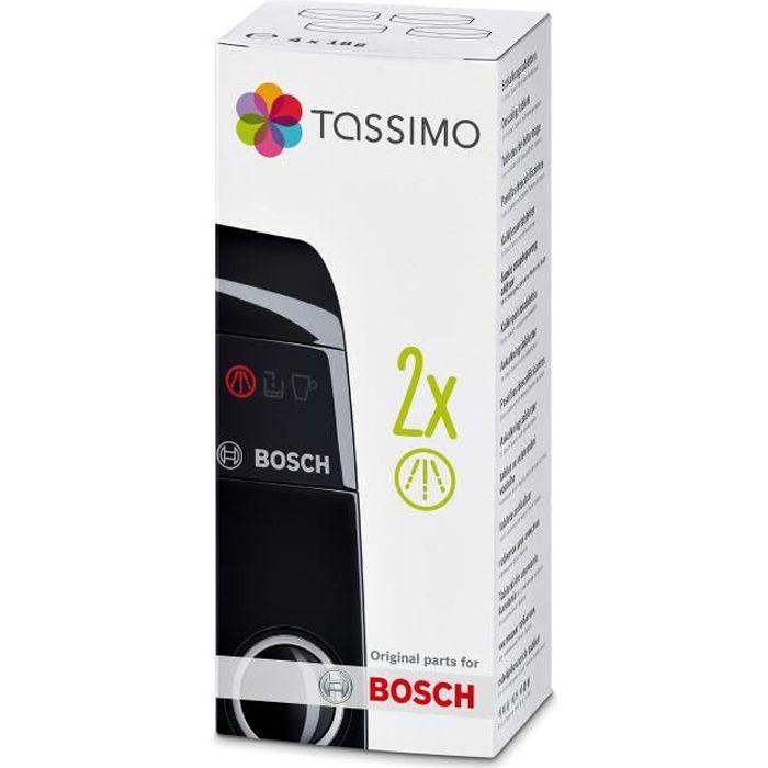 4 x 10 comprimés Bosch Siemens Nettoyage Comprimés 40 comprimés tcz6001 tz60001
