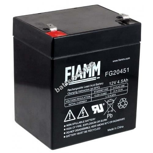 fiamm batterie au plomb rechargeable fg20451 12 achat vente batterie v hicule fiamm. Black Bedroom Furniture Sets. Home Design Ideas