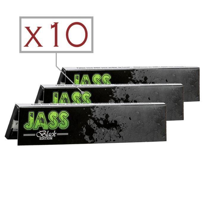 Papier à Rouler FR JASS Régular  Lot de 10 Carnets x 100 Feuilles