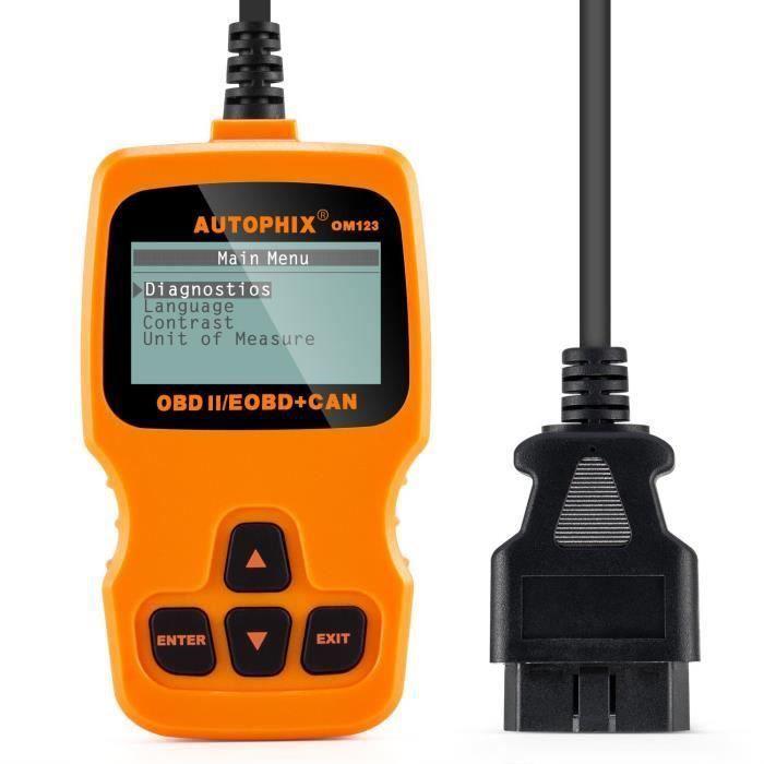 obd2 scanner aqv lecteur de code de d faut v hicule obd dispositif de diagnostic de voiture