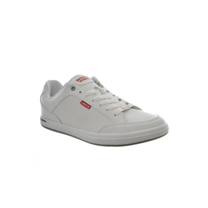 baskets mode levis acces 222805 blanc