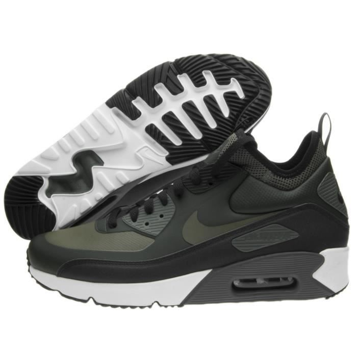 6d8c251345a Baskets Nike Nike Air Max 90 Ultra Mid Winter Vert Vert - Achat ...
