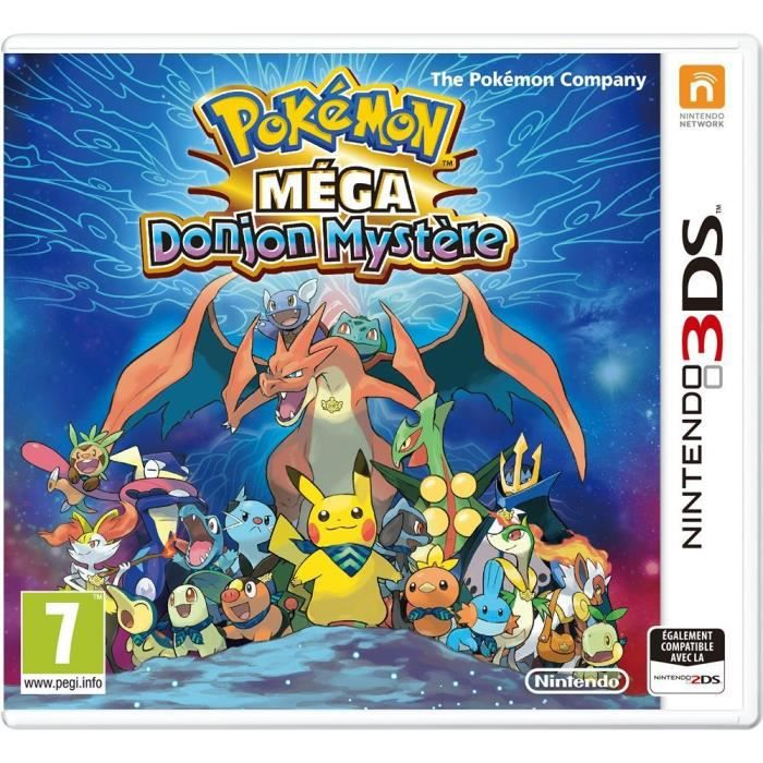 JEU 3DS Pokémon Soleil Jeu 3DS+ 2 figurines Pokemon OFFERT