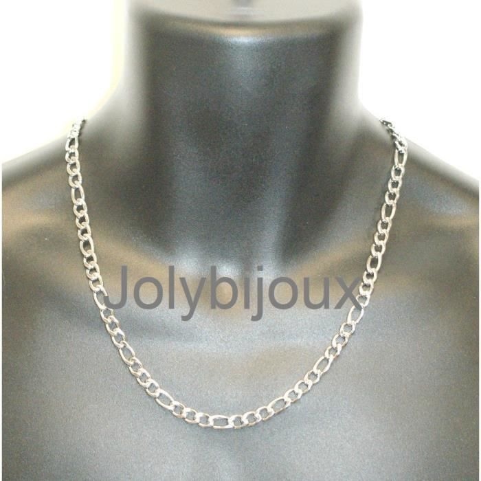 collier homme figaro