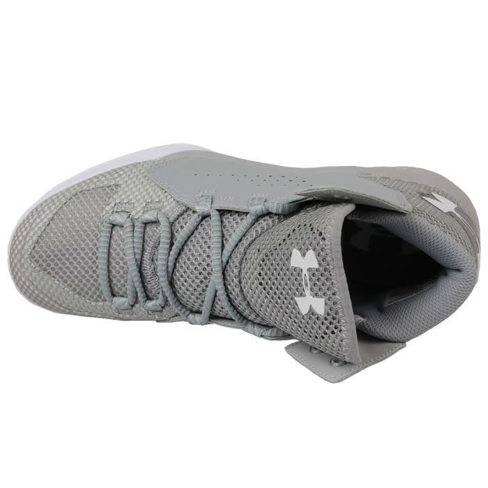 Under Armour Torch Fade 1274423-031 Homme Baskets Gris,Argent