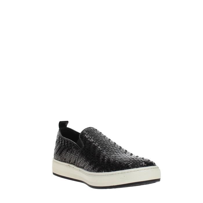 Frau Verona Slip On Homme BLACK, 40