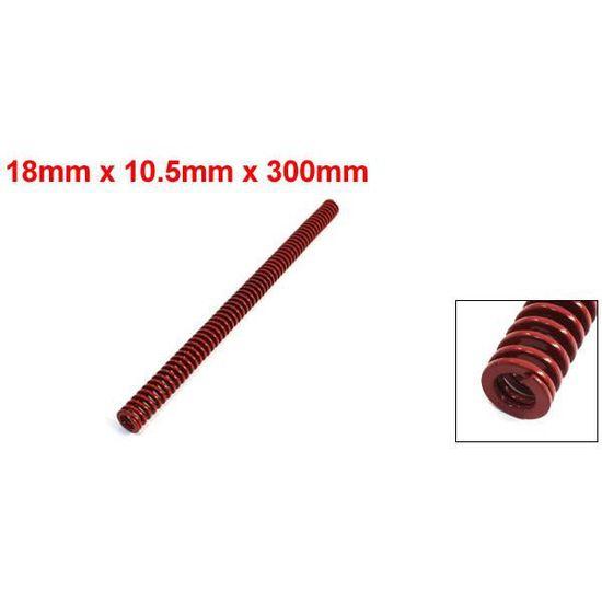 10/x 5,5/x 300/mm Rouge Chrome Alliage Plat Coil Ressort de compression pour moule