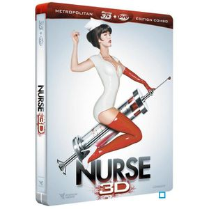 BLU-RAY FILM NURSE 3D - COMBO BLU RAY 2D / 3D + DVD