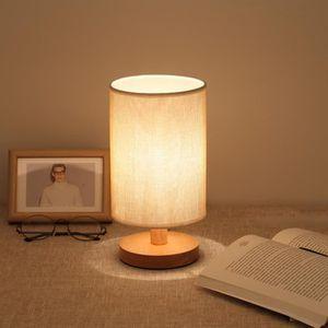 LAMPE A POSER Lampe de chevet Veilleuse chaude ampoule blanche D