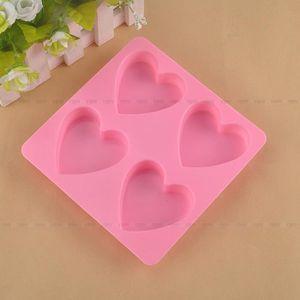 MOULE  Moule à gateau en silicone en forme de coeur fonda