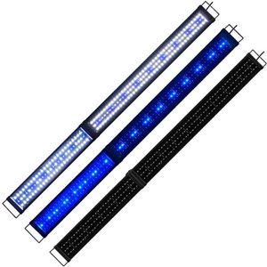 ÉCLAIRAGE 150cm - 180cm Rampe Aquarium LED Bleu Blanc Lumièr
