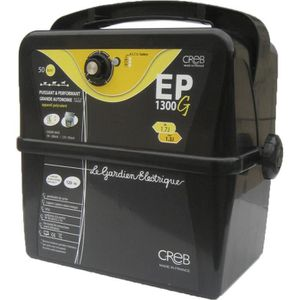 ANTI-FUGUE - CLOTURE ELECTRIFICATEUR PORTABLE EP 1300G