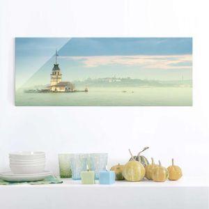 CADRE PHOTO 40x100 cm verre image - maidens tower - croix pano
