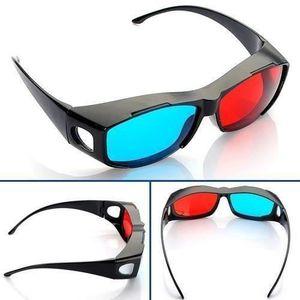 Rouge Bleu Cyan NVIDIA 3D Lunettes Glasses Vision Anaglyphe Pour Camera Film R SODIAL