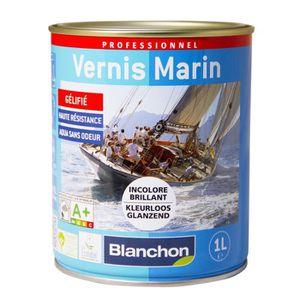 PEINTURE - VERNIS Blanchon Vernis marin incolore AQUA 1 litre