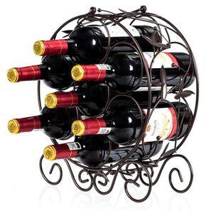 PORTE-BOUTEILLE COSTWAY Casier à Bouteille Casier à Vin en Métal B
