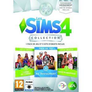 JEU PC LES SIMS 3 COLLECTION 3