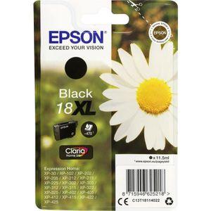 CARTOUCHE IMPRIMANTE EPSON Pack de 1 cartouche d'encre originale  18XL