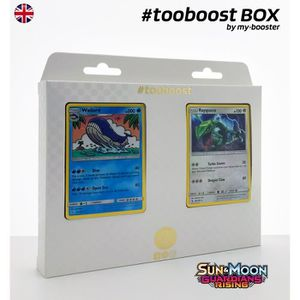 CARTE A COLLECTIONNER Coffret #tooboost WAILORD et RAYQUAZA - SM02 - 10