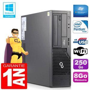 UNITÉ CENTRALE  PC Fujitsu Esprimo E500 E85+ SFF Intel G640 RAM 8G