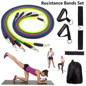 sangle de chevilles jambes boucl/ées tendeur pour exercices de fitness r/éducteurs de hanches b/équilles Besporttle C/âble pour appareils de musculation des chevilles noir